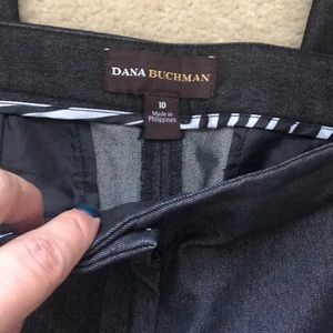 Dana Buchman Pants - Dark gray denim Dana Buchman trousers pants Sz 10
